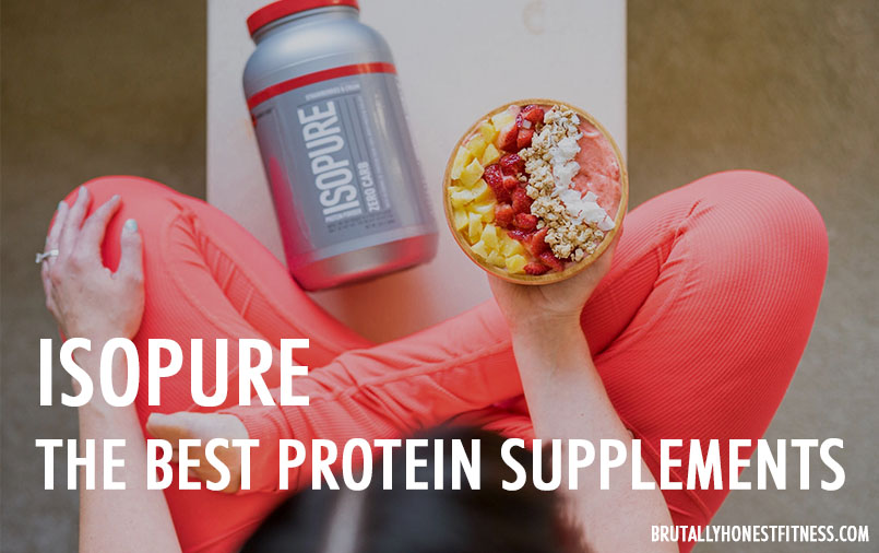 Isopure - the best protein supplements